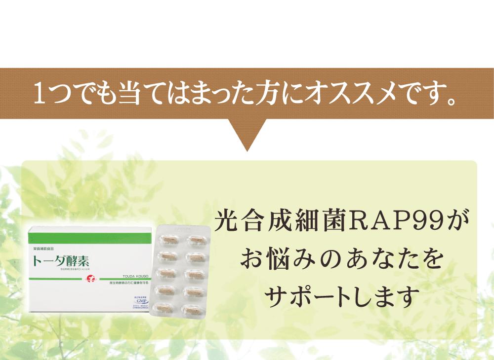 RAP99がサポート